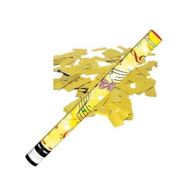 Confetti Shooter Gold 60cm