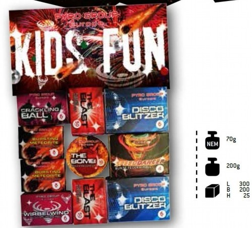 Kids Fun Sortiment